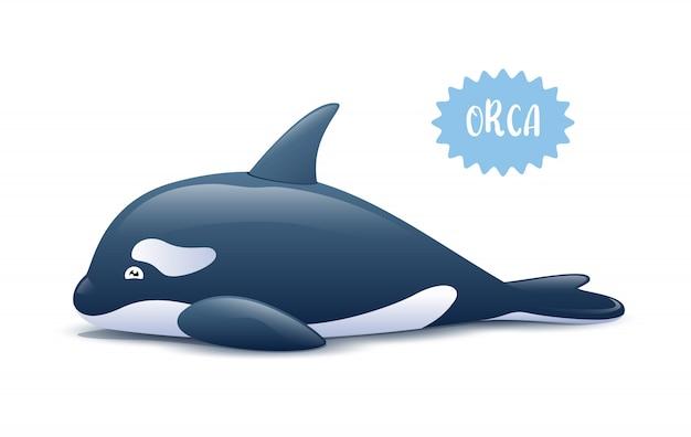 Śliczny orka orka