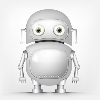 Śliczny robot