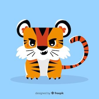 Śliczny tygrys