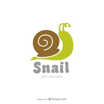 Ślimak wektorowych logo
