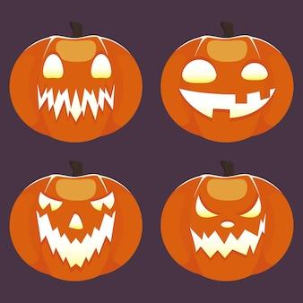 Słodka ikona halloween