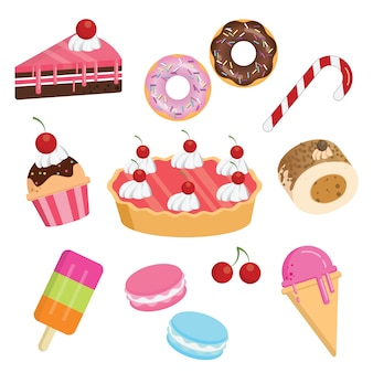 Słodka kolekcja deserów