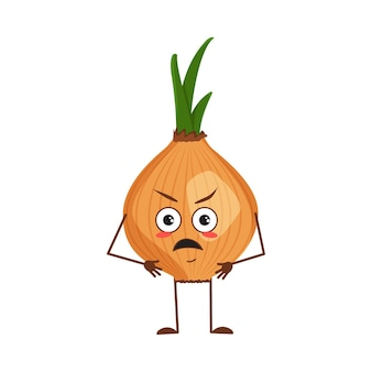 Słodka postać cebuli