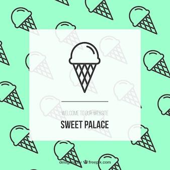 Słodka strona pałacu