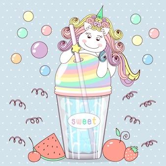 Słodki jednorożec