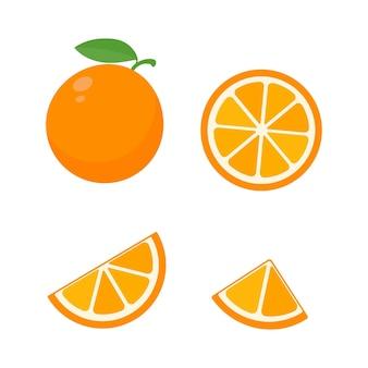 Słodki owoc pomarańczy.