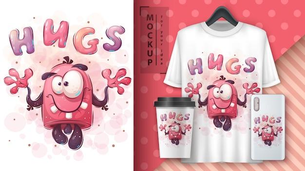 Słodki potwór - plakat i merchandising