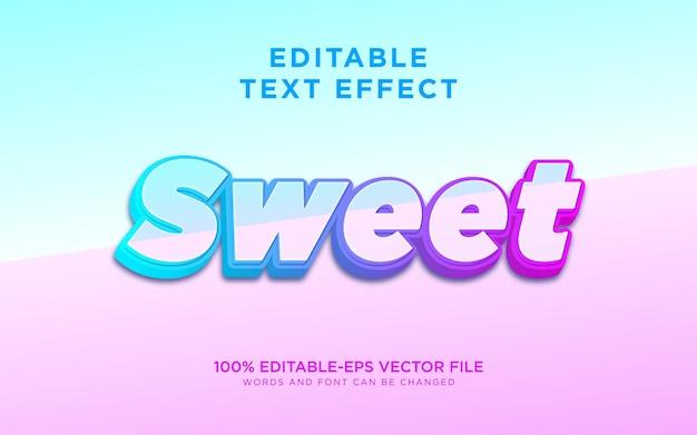 Słodki różowy efekt stylu tekstu