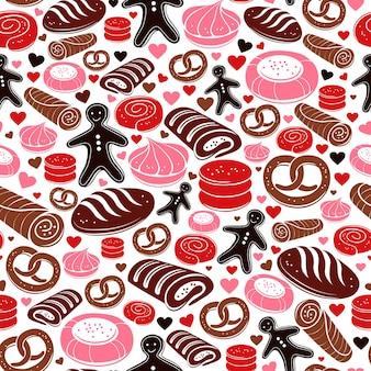 Słodki wzór piekarni!