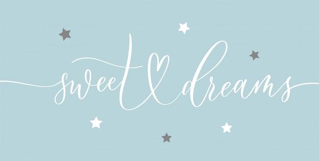 Słodkich snów - plakat
