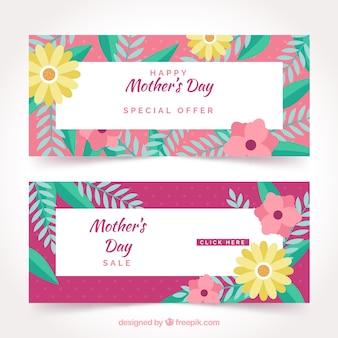 Słodkie banery z dnia matki