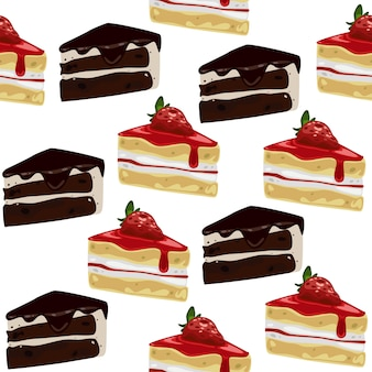 Słodkie ciasto bez szwu