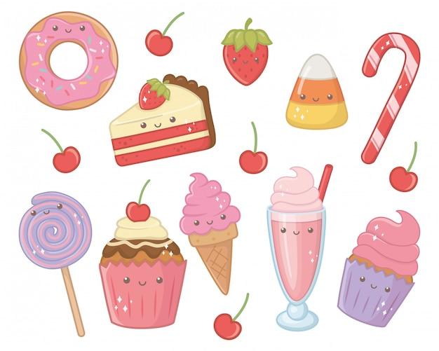Słodkie i pyszne jedzenie