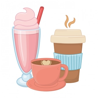 Słodkie i smaczne napoje