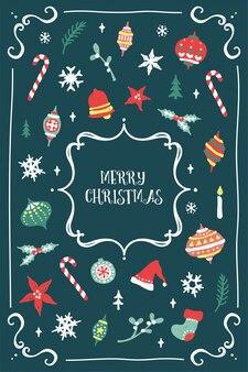 Słodkie i świąteczne kartki świąteczne