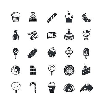 Słodkie ikony
