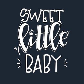 Słodkie małe dziecko motywacyjny cytat wyciągnąć rękę.