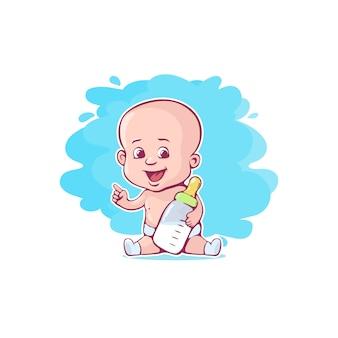 Słodkie małe dziecko