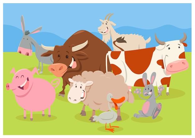 Słodkie postacie ze zwierząt hodowlanych