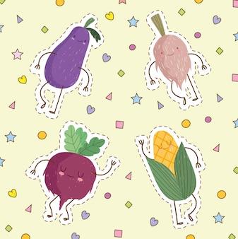 Słodkie warzywo spożywcze