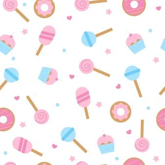 Słodycze wzór