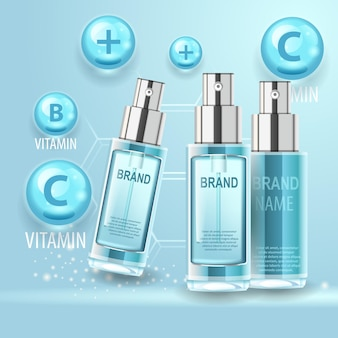 Słoiczki kosmetyczne z kompleksem witamin strength z produktem do pielęgnacji ciała