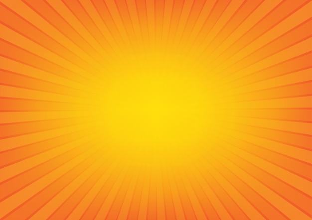 Słońce promienie z sunburst tłem