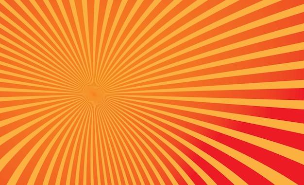 Słońce żółte tło wektor