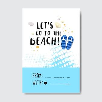 Słoneczna plaża odznaka
