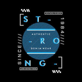 Słowa typografia projekt graficzny