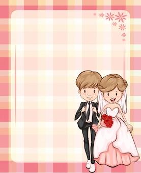 Ślubna rama