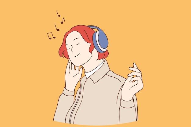 Słuchanie koncepcji muzycznej