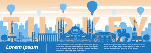 Słynny punkt orientacyjny w turcji