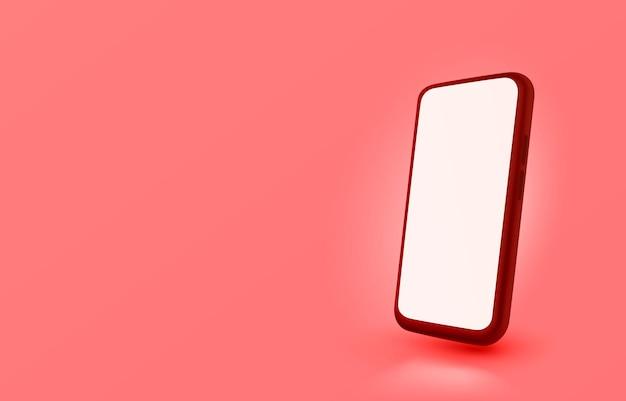 Smartfon kolorowy ekran mobilny technologia mobilny wyświetlacz świetlny wektor