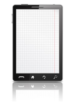 Smartfon z paperon the screen