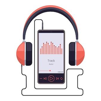 Smartfon z zestawem słuchawkowym