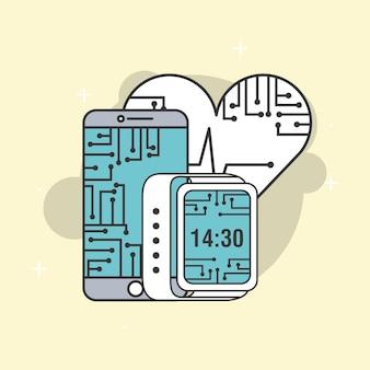 Smartphone poręczny obwód procesora