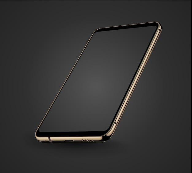 Smartphone przezroczysty ekran iphon stylu