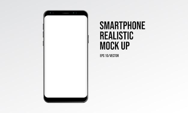 Smartphone realistyczne makiety