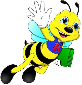Śmieszne kreskówki macha pszczoła