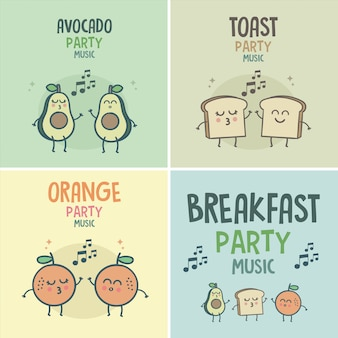 Śniadanie good morning party music