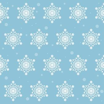 Śnieg. zima śnieżynka tło wzór.