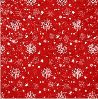 Snoflakes na czerwonym tle tekstury