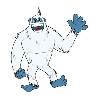Snow monster yeti