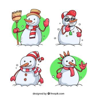 Snowman: 4 różne postaci