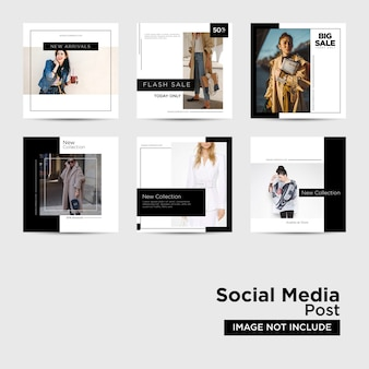 Social media post dla digital marketing template