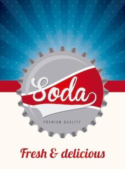 Soda prosty element