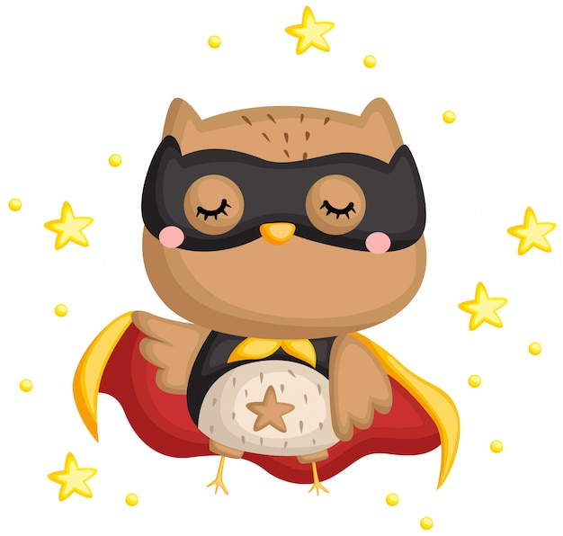 Sowa superhero