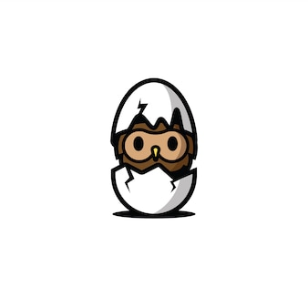Sowa w postaci jajka