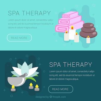 Spa terapii banery